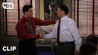 Friends: Ross Breaks Down Barriers at the Museum (Season 4 Clip) | TBS