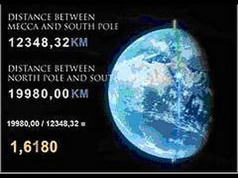 Mathematical Miracles of Kaaba The Golden Ratio 1.618 - YouTube