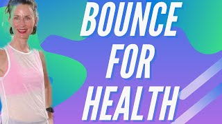 35 MIN WORKOUT | REBOUNDER PURE CARDIO | MINI TRAMPOLINE WORKOUT |  BURN FAT | HOME WORKOUT |AFT