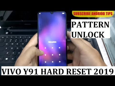 VIVO Y91 HARD RESET pattern unlock new method 2019 - YouTube