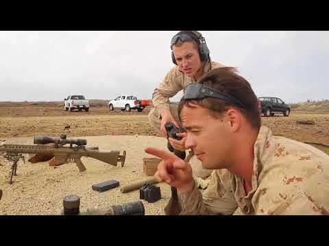 U S  Marine Corps Force Recon Sniper Training