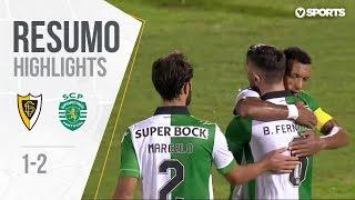 Highlights | Resumo: Loures 1-2 Sporting (Taça de Portugal 18/19 #3)