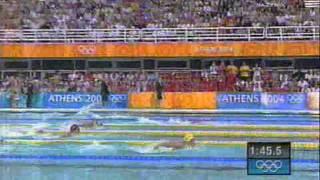 Otylia Jędrzejczak, złoty medal, 200m stylem motylkowym, Ateny 2004