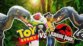 Toy Story 4 VS Jurassic World / Manito y Maskarin