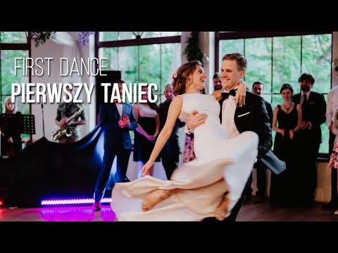 Bardzo ambitny Pierwszy taniec Pary Młodej z niespodziewanym finałem! Grupa Obiektywni