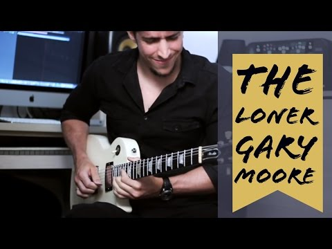 Gary Moore - The Loner by Lucas Bittencourt ( In Memory of Gary Moore 1952-2011)