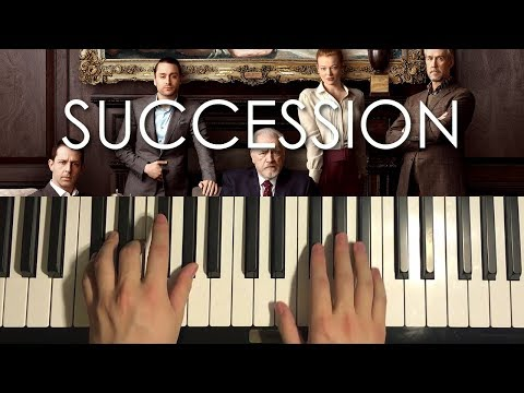 How To Play - SUCCESSION - Theme Song (PIANO TUTORIAL LESSON)