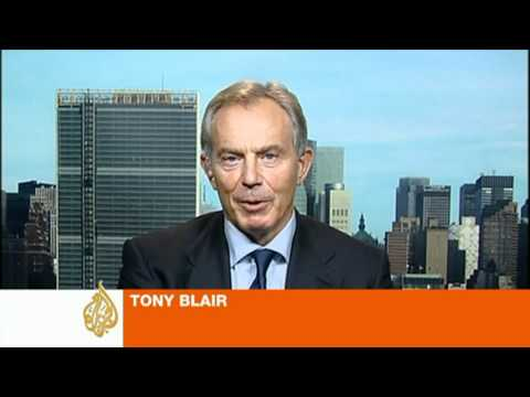 Quartet special envoy Tony Blair on Palestine bid