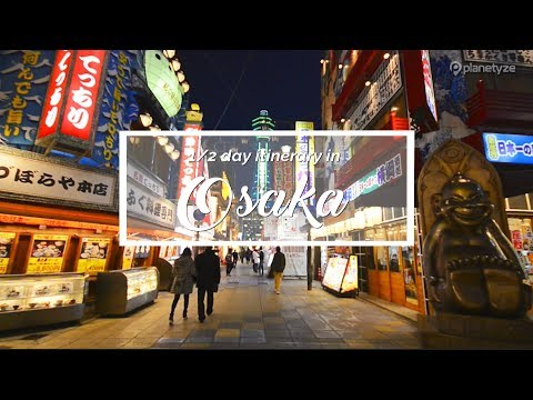 Osaka - Night Plan | Japan Itinerary suggestion image