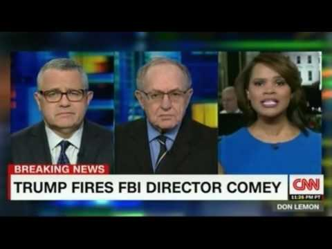 Thumbnail: CNN Don Lemon Panel discussion Trump fires Comey with Alan Dershowitz