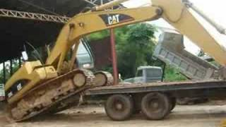 CAT 320C & 10 WHELL IN THAILAND