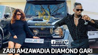 ZARI the boss lady amzawadia DIAMOND platnum dhawadi ya GARI hii ni zaidi ya upendo mapenzi ni moto