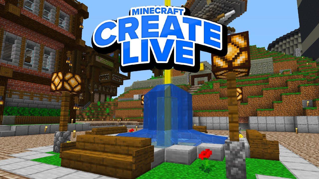 Ein Brunnen für den Marktplatz 🛠️ CREATE Live #045