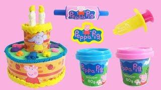 Kleien Met Peppa - Taart Van Klei Peppa Pig Playdoh Nederlands Speelgoed Filmpje Youtube K ...