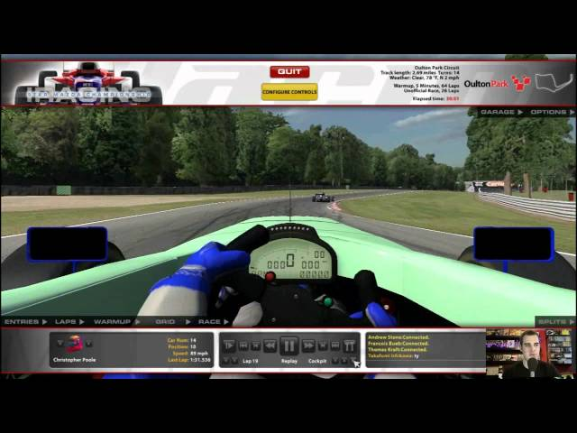 iRacing Coverage Introduction