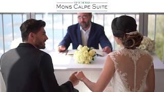 Mons Calpe Suite - Gibraltar Weddings