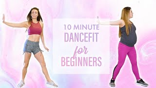 Dance Workout for Weight Loss & Lean Legs! Beginners DanceFit, Fun At Home Cardio Fitness, 10 Mins