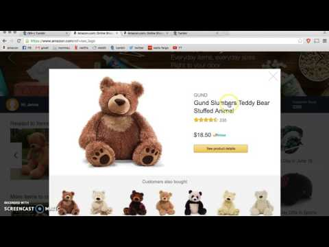Teddy Bear Takeover on Amazon