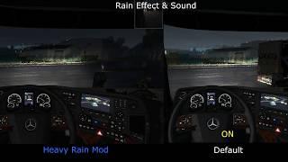 ETS2 Mod, 1.34  Download:  https://sharemods.com/yszjyt0kqfk0/Heavy_Rain_v1.0_By_Darkcaptain.scs.html