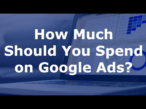 How Much to Spend on Google Adwords for Small Businesses