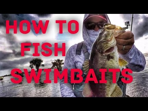 How to Fish Weedless Swimbaits – Bass Fishing in the Grass