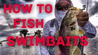 How to Fish Weedless Swimbaits - Bass Fishing in the Grass