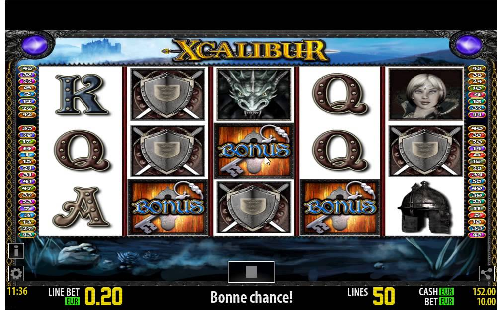 Slot Machine Xcalibur