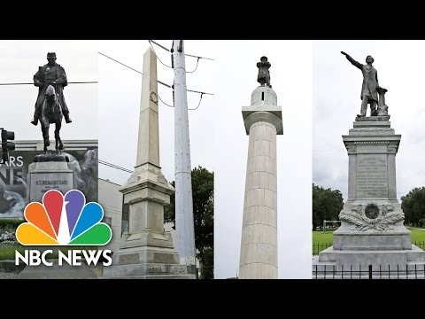 New Orleans Removes 4 Confederate Monuments. Watch to Learn More.