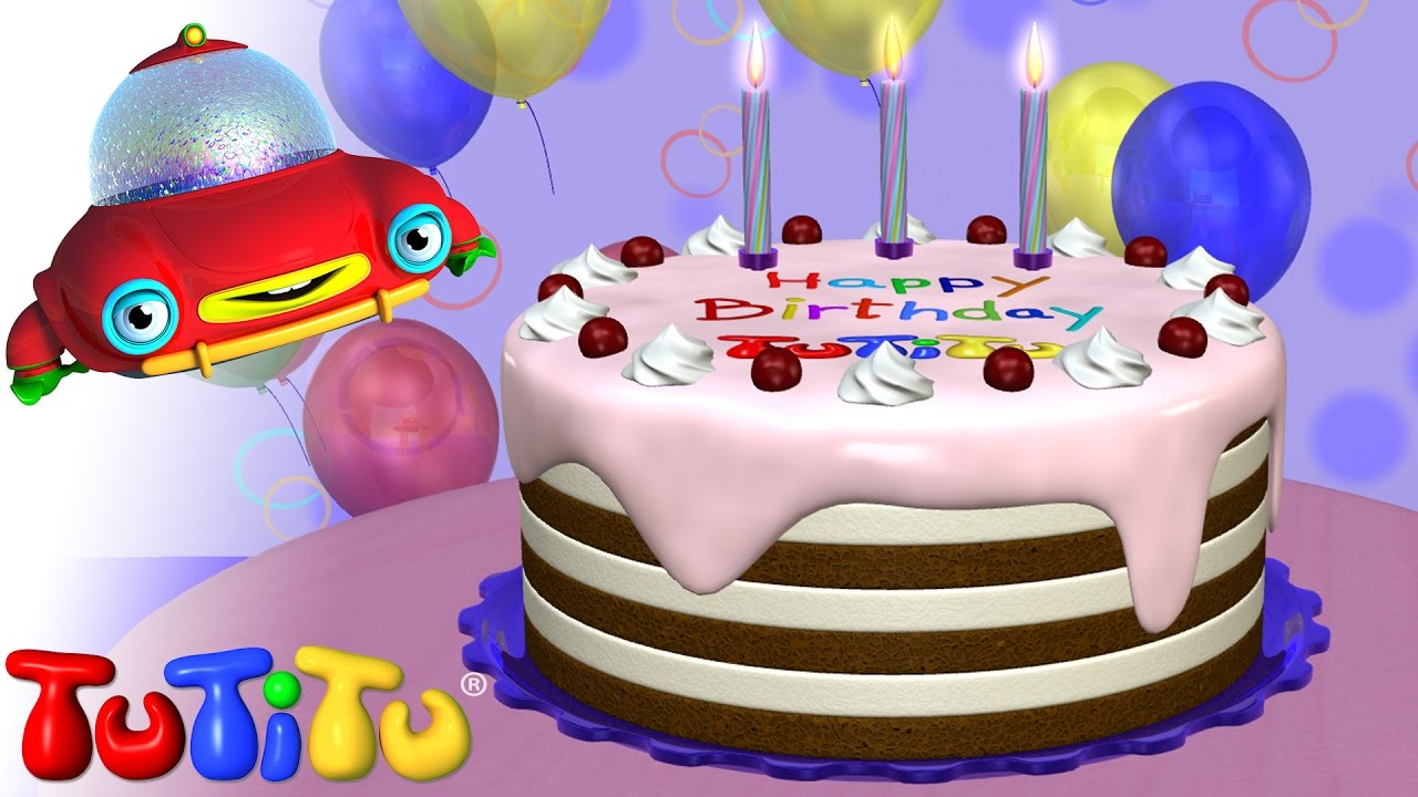 Tutitu Toys Happy Birthday Cake Youtube