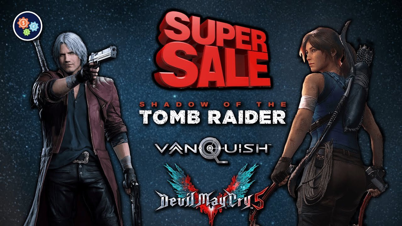 PC Game Super Sale — Shadow of the Tomb Raider / Vanquish / Devil May Cry V / & More — August 2020