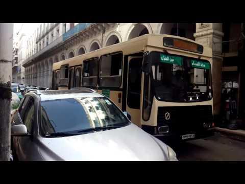 public transportation in Algiers, July 2016