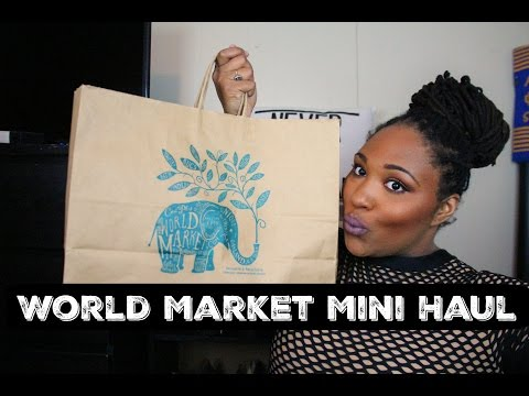 Mini World Market Haul