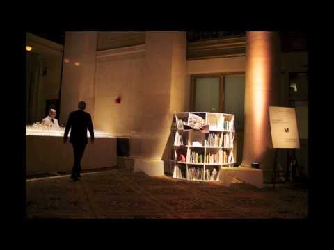 Uni Pop-up Reading Room at National Book Awards Ceremony 2013