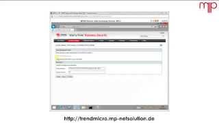 Trend Micro Worry Free Exchange Server Agent Install [german]