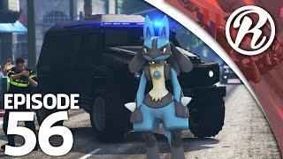 [GTA5] NEDERLANDSE POLITIE VS EEN POKEMON!! - Royalistiq | Politie en boefje #56