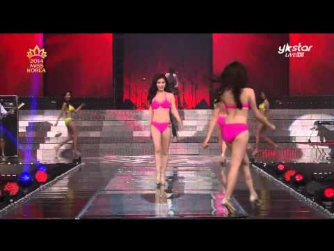 [2014 미스코리아 선발대회 Miss Korea Beauty Contest] 여신 강림! 명품 몸매의 향연~ 미스코리아 비키니 퍼레이드 with 딕펑스'MUZIK'