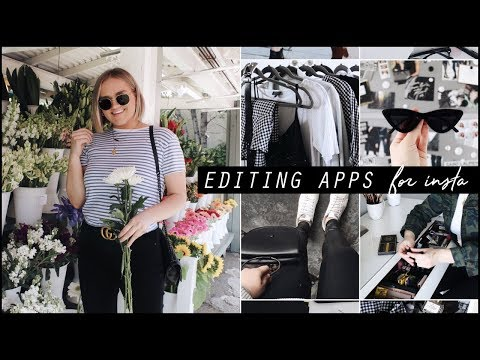 THE BEST INSTAGRAM PHOTO EDITING APPS! + TIPS & TRICKS 2018
