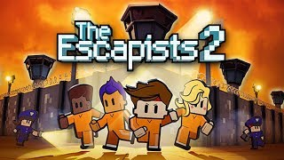 Impossible PRISON BREAK Escape!  (The Escapists 2 Early Access Gameplay Part 1 - Centre Perks 2.0)