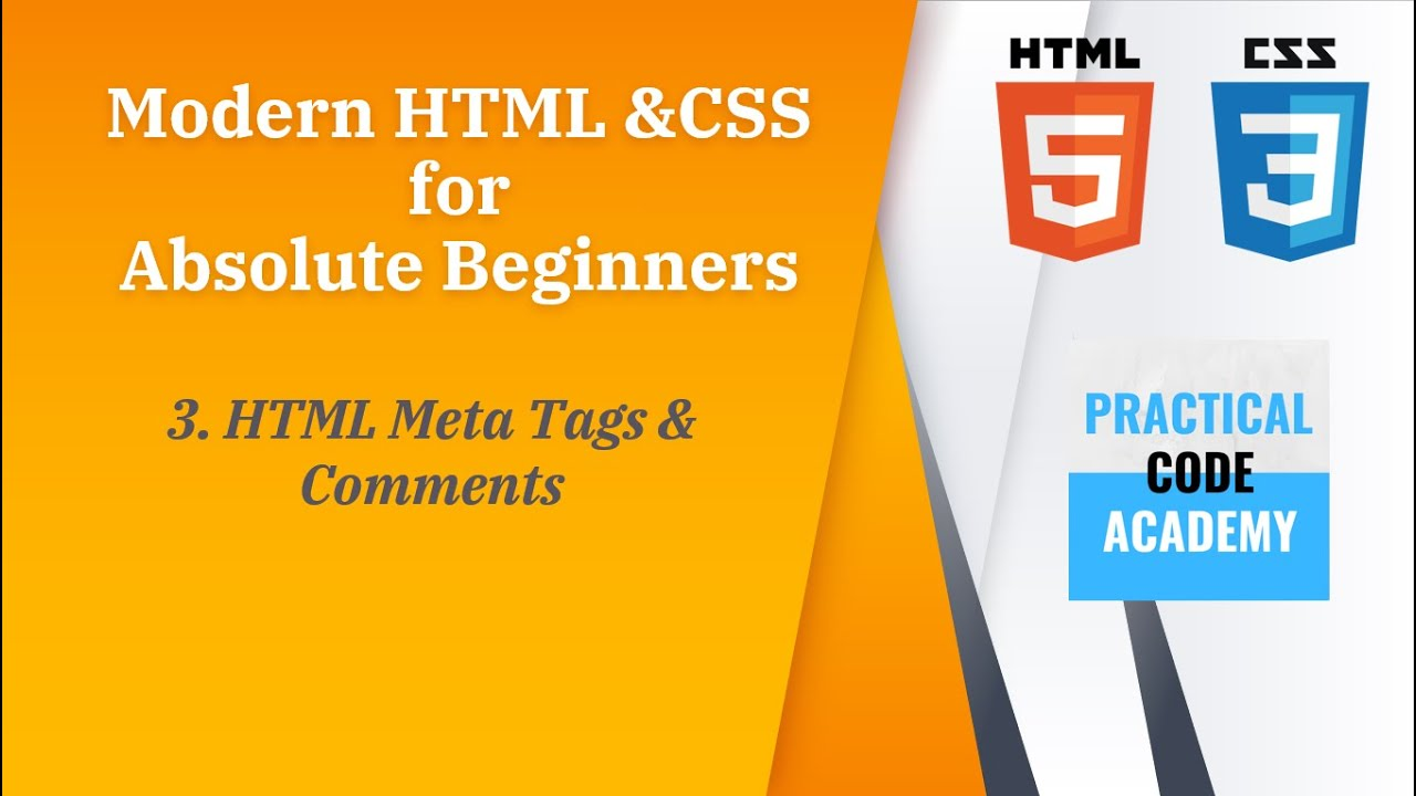 HTML Meta Tags and Comments