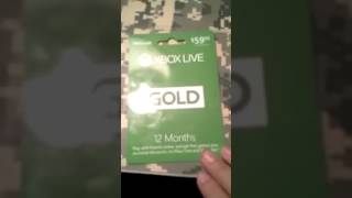 Microsoft Xbox LIVE 12 Month Gold Membership for | Xbox Subscription 360: