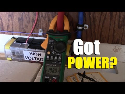 Full sun operation - DIY partial off-grid home solar power system