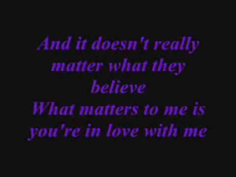 Doesnt really matter Lyrics