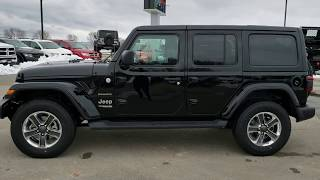 SOLD! 8J277 2018 NEW JEEP WRANGLER JL UNLIMITED SAHARA REVIEW NAV www.SUMMITAUTO.com