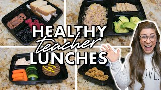 5 HEALTHY Lunch Ideas for Teachers