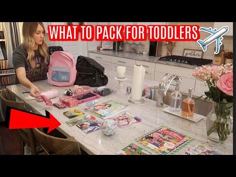 PACK WITH ME FOR DISNEYWORLD | WHAT TO PACK FOR TODDLERS | Tara Henderson