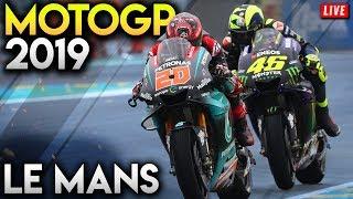 MotoGP Le Mans 2019 Full Race - France GP Gameplay (MotoGP 19 Mod Gameplay Live Stream)