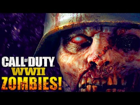 Call of Duty: WW2 ZOMBIES! - FIRST LOOK! - (COD World War 2)