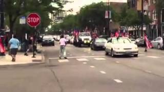 SHOOTING ON CAMERA: Chicago Puerto Rican Day Parade