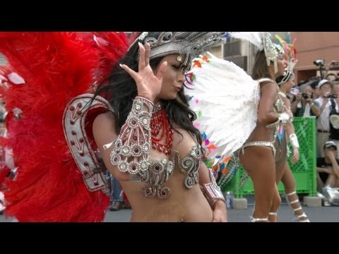 [Sexy Digest from Japan] Tokyo Asakusa Samba Carnival Festival Video 2013