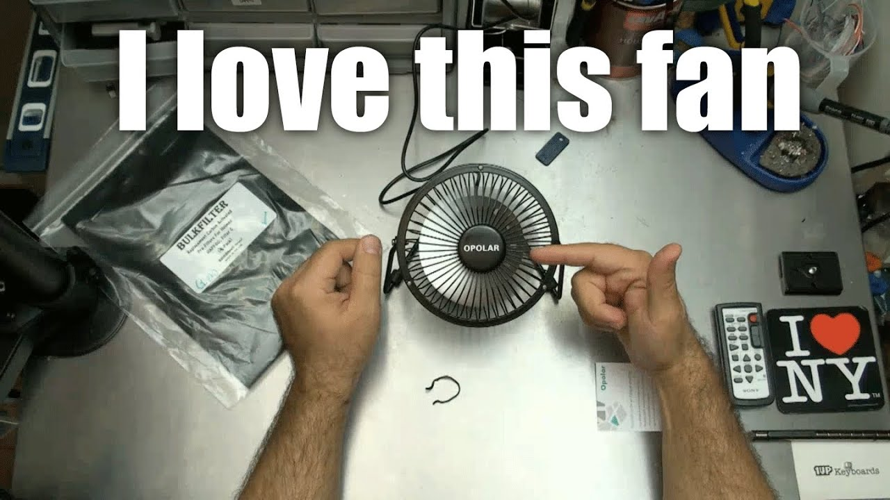 OPOLAR - USB Desktop FAN: the official fan of Skiwithpete! - YouTube